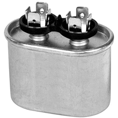 capacitors king capacitor 10 mfd 370 vac oval onetrip parts 174 direct replacement for rheem ruud weatherking 43
