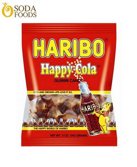 Haribo Happy Cola 80g k蘯ケo d蘯サo haribo h豌譯ng cola g 243 i 30g 80g sodafoods