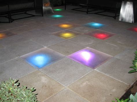Light Up Floor by Light Up Your Outdoor Floor Way Cool Glass In The