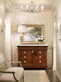Hallway Or Foyer Wallpaper In A Hallway Or Small Foyer For The Home