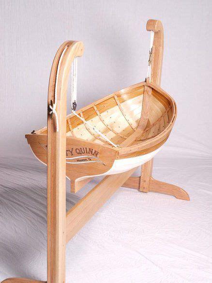 traditional boat builders baby cradle  deckerpair