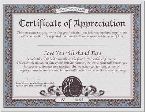 appreciation letter for your husband appreciate your spouse quotes quotesgram