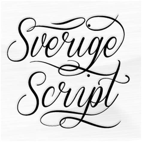 decorative font family sverige script font family 123creative