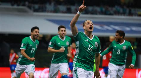 soccer world cup mexico qualifies for 2018 world cup seals place with