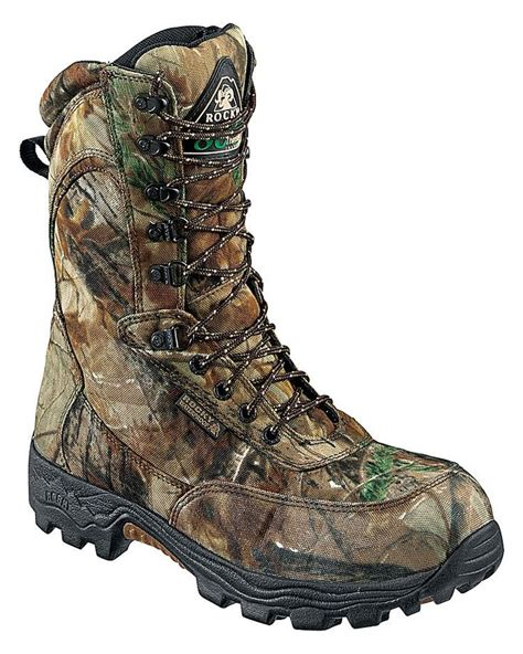 bass pro shop mens boots rocky 174 9 prowler elite waterproof insulated