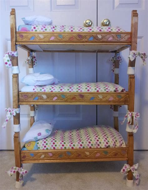 doll bunkbed i built for my s american