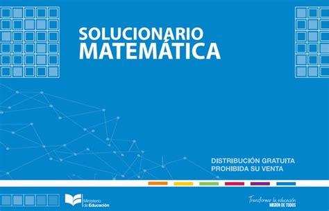 solucionario matematicas de cuarto grado del 2016 libro de matem 225 ticas 2018 resuelto solucionario libro de