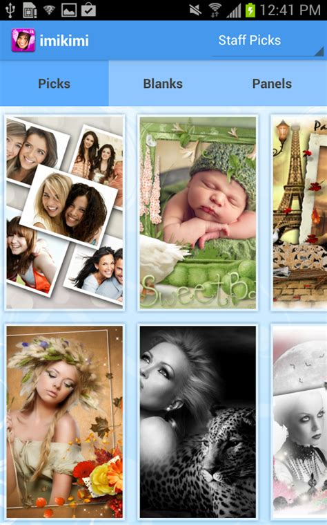 imikimi app for android imikimi frames and effects android apps on play