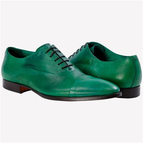 green dress shoes for the