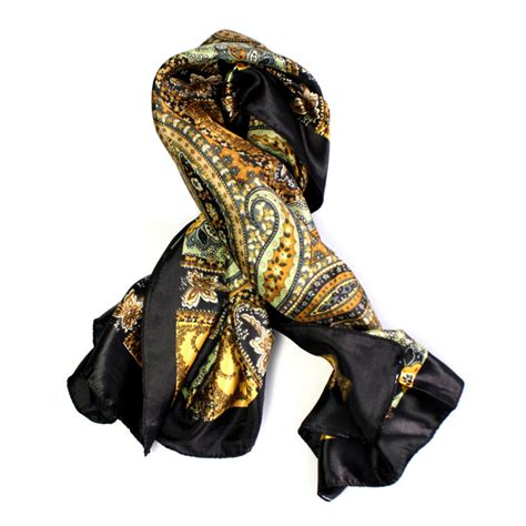 square silk head scarf new 1pcs classical pattern large square women girl scarf