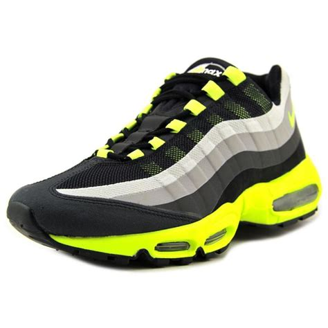 nike max air running shoes nike nike air max 95 no sew mesh black running shoe