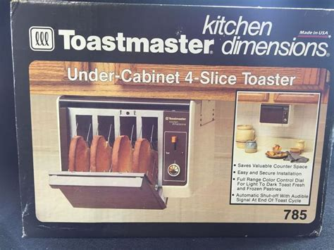 toastmaster 4 slice toaster toaster usa and cabinets