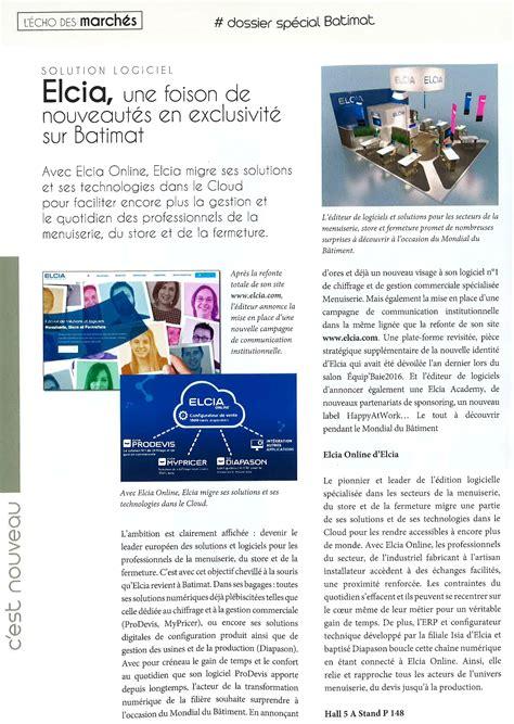 canva newspaper article danslapresse elcia en plein page du magazine echo de la