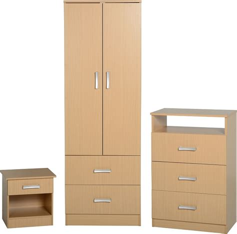 Flat Pack Bedroom Furniture Polar Bedroom Set Beech Beech Bedroom Furniture Uk