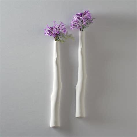 Modern Wall Vase by Shine Labs Cypress Wall Vase Modern Vases By 2modern