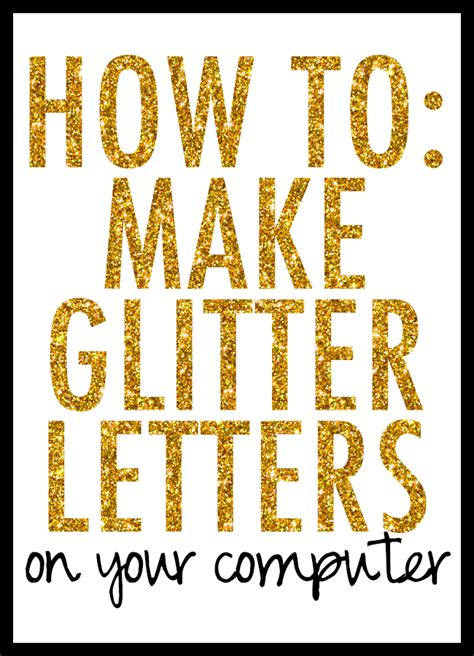 free printable glitter fonts saturday sessions how to make glitter letters venus