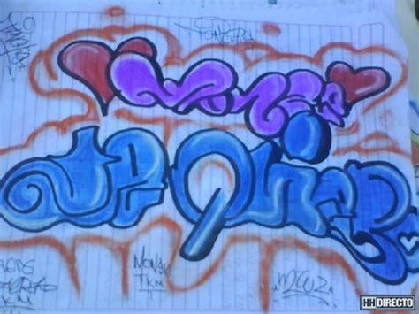 imagenes chidas te quiero graffitis de te quiero arte con graffiti