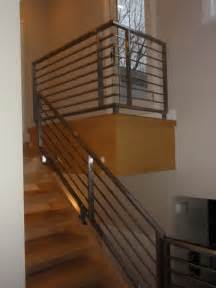 handrails for inside staircases interior contemporary