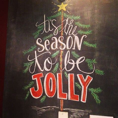 colorful holiday chalkboard walls    home merry  bright christmas