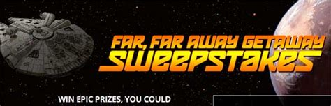 General Mills Sweepstakes - general mills star wars far far away getaway sweepstakes 2016 sweepstakesdaily com