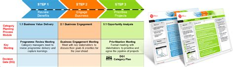 procurement category strategy template pin category management process ppt filmvz portal on