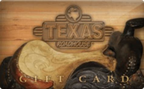 Texas Roadhouse Gift Card Balance - texas roadhouse gift card discount 15 00 off
