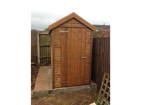 8x4 Sheds by 8x4 Apex Tanalised Shed Easy Shed