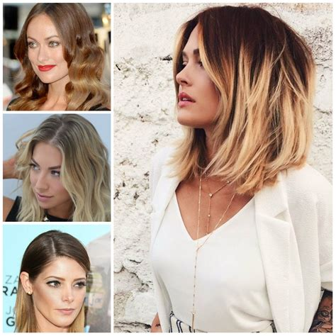 Medium Ombre Hairstyles by 2016 Trendy Ombre Hair Colors For Midlength Haircuts 2016