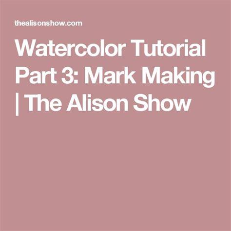 watercolor tutorial part 3 4470 best images about art watercolor on pinterest