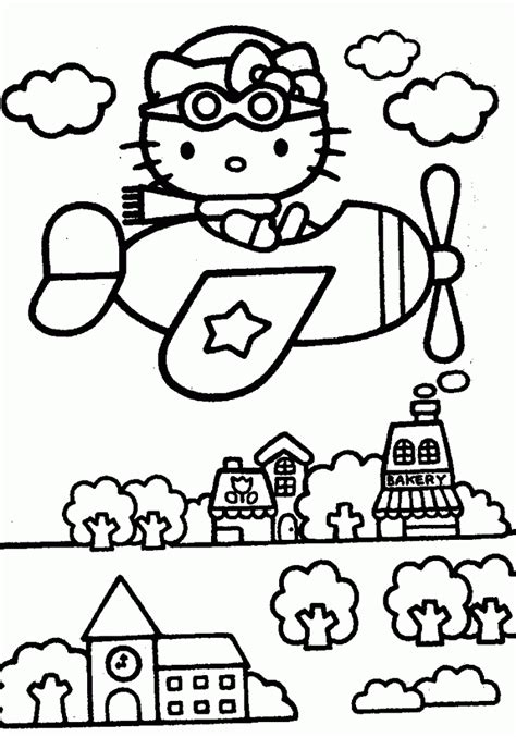 Free Printable Hello Kitty Coloring Pages For Kids Coloring Book Printing
