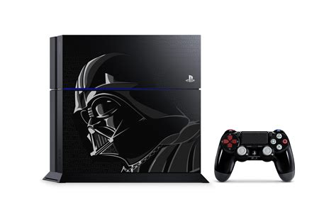 ps1 themed ps4 darth vader themed ps4 bundles include classic star wars games