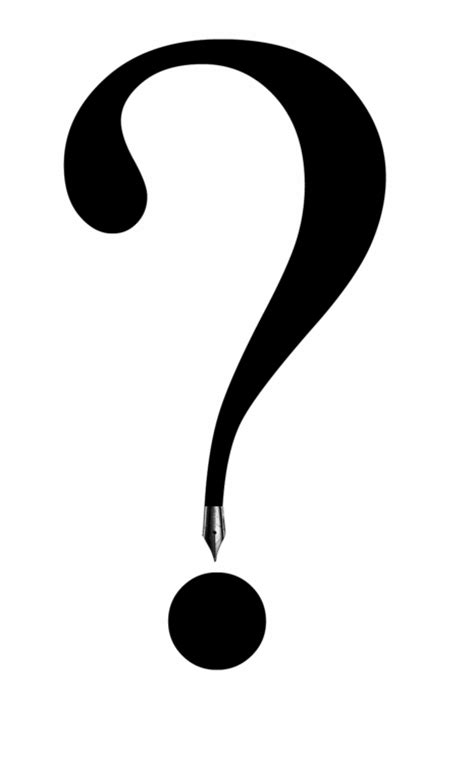 large printable question mark question mark black and white clipart panda free