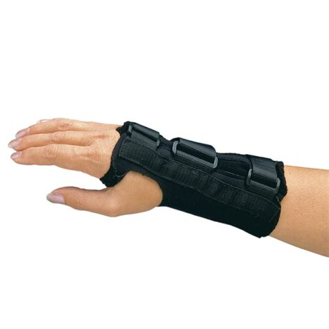comfort cool brace comfort cool d ring wrist splint low prices