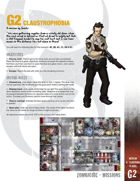 zombicide character card template 17 best images about zombicide on storage