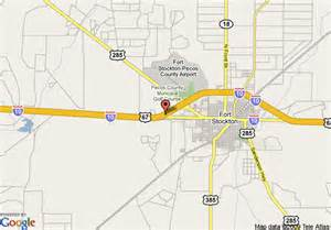 map of fort stockton map of la quinta inn fort stockton fort stockton