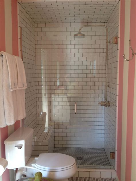 tiled shower with bench tileshower joy studio design gallery photo