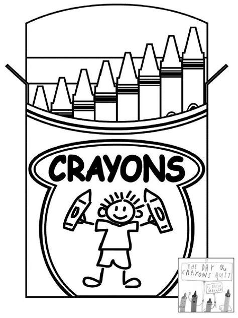 Crayon Box Coloring Page | Clipart Panda - Free Clipart Images