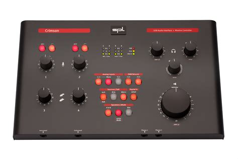 test sspl test spl crimson audiointerface und monitor controller