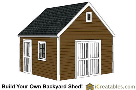 14x16 gambrel shed plans 14x16 barn shed plans 14x14 shed plans build a large storage shed diy shed