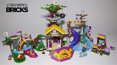 Lego Friends Brick Sy832 Adventure C Tree House lego friends 41122 adventure c tree house with rafting and archery