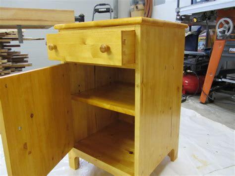 bedside tables matchbox natural pine plywood bedside finished pine dresser and bedside table by zulu55