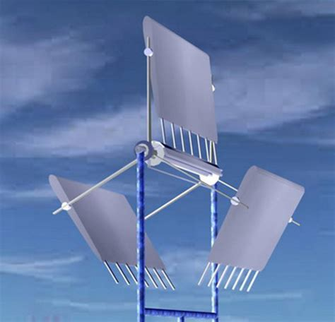 Small Home Wind Generators The Lateral Axis Wind Turbine