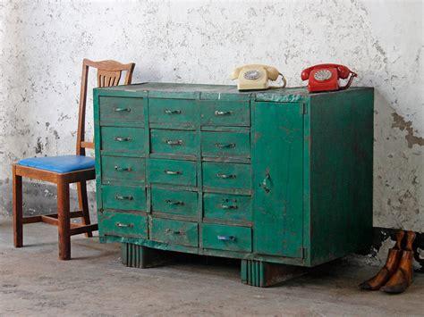 Vintage Cabinet by Vintage Industrial Workshop Cabinet Scaramanga