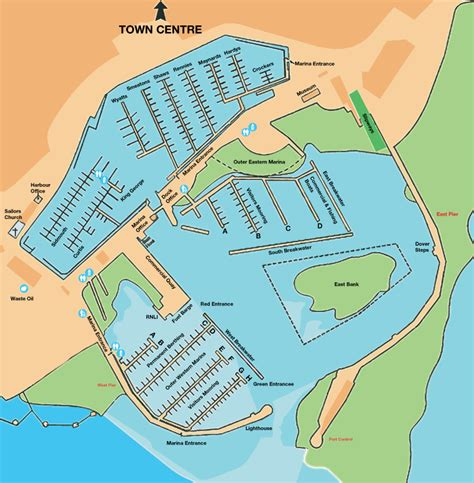 layout and design guidelines for marina berthing facilities berth map