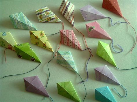 Origami Paper Kites - 9 best images about kites on hanging