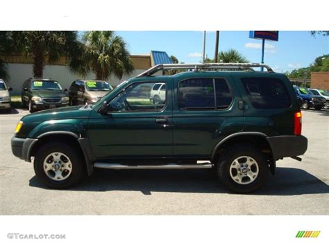 2000 alpine green metallic nissan xterra xe v6 85356509 gtcarlot car color galleries
