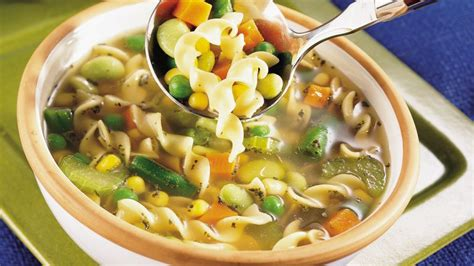 vegetarian noodle soup recipe pillsbury com