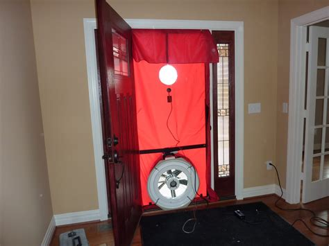 wann blower door test should i replace my furnace eco performance builders