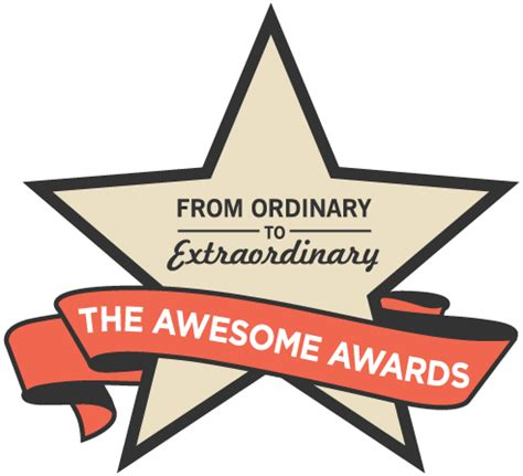 awesome certificate templates the awesome awards from ordinary to extraordinary