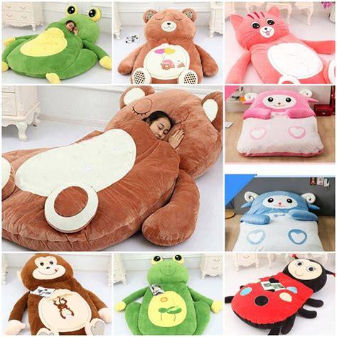 Amazon Com Jibuteng Boys Girls Sofa Cute Animal Plush Toy Soft | huge cartoon sleeping bags for 2015 christmas gift web